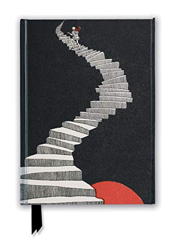 British Library: Hans Christian Andersen, a Figure Walking Up a Staircase (Foiled Journal)