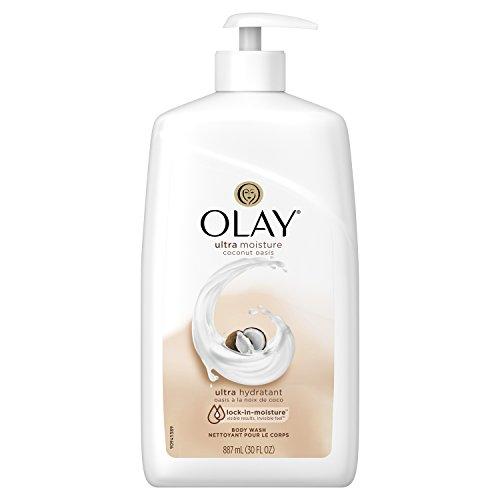 Olay Coconut Oasis Bodywash 887mL Pump
