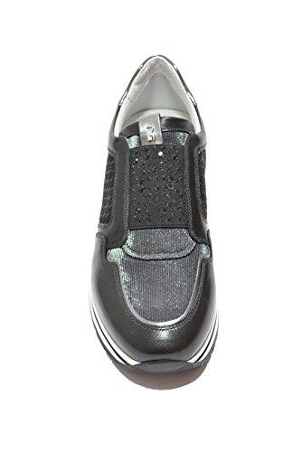 Nero Giardini Sneakers slip on nero 7231 zeppa scarpe donna P717231D