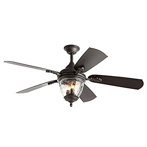 Iron 52 Inch Ceiling Fan - 1