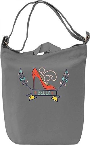 Belle Borsa Giornaliera Canvas Canvas Day Bag| 100% Premium Cotton Canvas| DTG Printing|