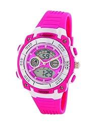 Dunlop DUN-244-L55 - Women's Watch, plastica, color: rosa