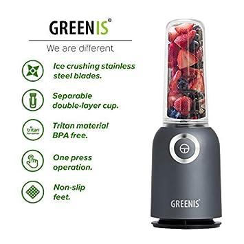 Amazon.com: Greenis - Batidora personal para batidos y ...