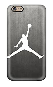 Shock Absorbent Hard Phone Cases For Iphone 6 (MgB16385skwI) Support Personal Customs Nice Air Jordan Skin