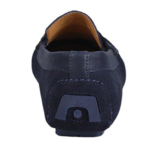 Scottwilliams Para Azul Hombre Marino Premium Amati Mocasines rwqntSf7r