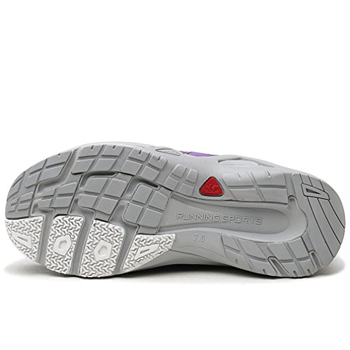 Chaussures Course Xiang Multisport Chaussures Jogging Violet Camping Outdoor Up Guan Léger Femme Basses Respirant Lace Mesh de PxwPqOUr4