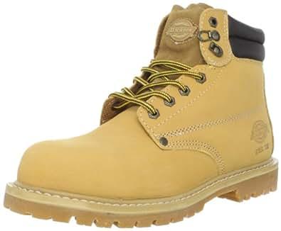 "Dickies Men's Raider 6"" Steel-Toe Work Boot,Wheat,7 M US"