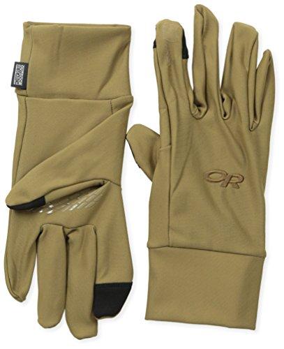 Outdoor Research Men's Pl Base Sensor Gloves, Coyote, Small Sensor Base