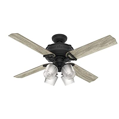 Hunter Fan Company 54185 Ceiling Fan, Large, Natural Iron