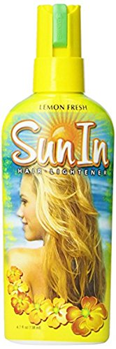 Sun-in Hair Lightener Spray Lemon 4.7 Fl Oz (Pack of 2)