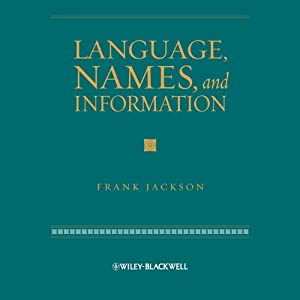 Language, Names and Information Audiobook