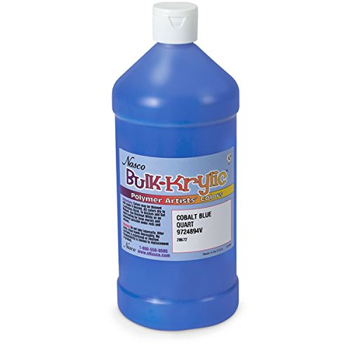 Nasco 9724894 v bulk krylic acrylic paint 1 quart for Acrylic paint in bulk