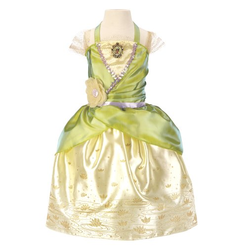 [Disney Princess Disney Princess Enchanted Evening Dress: Tiana] (Princess Tiana Disney Costume)