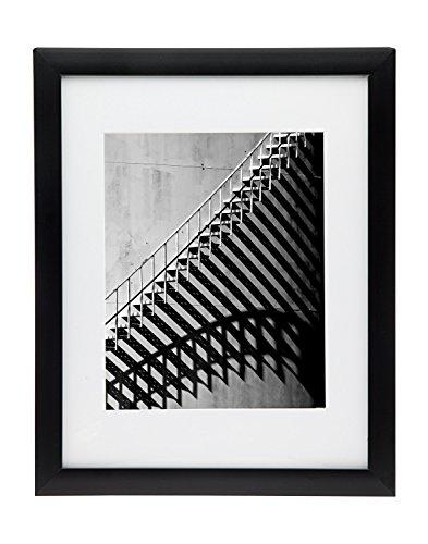Godinger 11x14 Picture Frame Set - Display Photos 8x10 with Mat Or 11x14 Without Mat - Set of - Godinger Photo Frame
