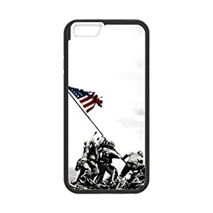 At-Baby Cartoon iPhone Case U.S Army Pattern Case For iPhone 6 4.7 inch (Laser Technology)