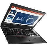 Lenovo Thinkpad T560 15.6-Inch Full HD Notebook - (Black) (Intel i5-6300U, 8 GB RAM, 256 GB SSD, Windows 10 Pro)