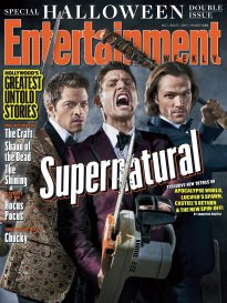 Entertainment Weekly Magazine (October 20, 2017) Supernatural, Special Halloween Double Issue -