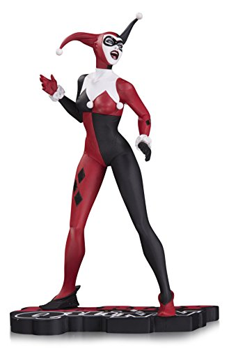 [DC Collectibles Harley Quinn Red, White & Black: Harley Quinn by Jae Lee Statue] (Collectible Costumes)