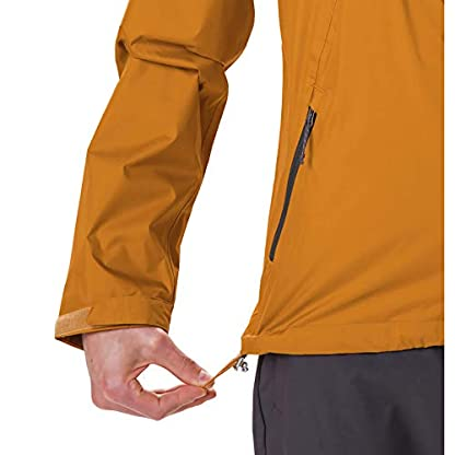 Columbia Herren Inner Limits Regenjacke, Gelb/Grau (Burnished Amber, Shark), L 6