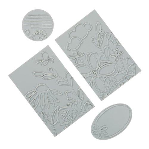 Fiskars 101050-1001 Favor Wrap Design Plate Expansion Pack, Large, 2-Pack ()