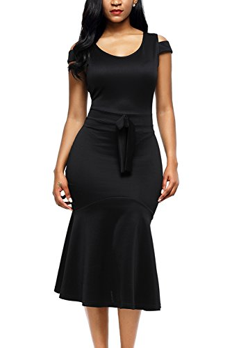 AlvaQ Sexy Dress For Women Party Wedding 2017 Night Graduation Cocktail Dresses For Women Club Black Large