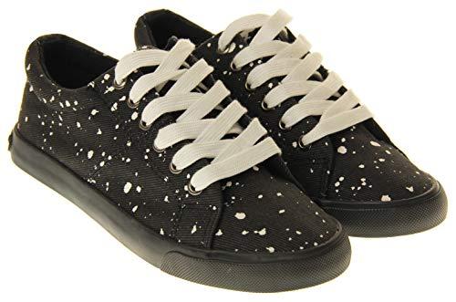 Femmes Lacets Rocket Chaussures À Noir Dog 7xOqHU