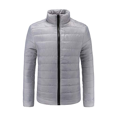 Simayixx Down Coat Men Lightweight Plus Size Casual Slim Zipper Windproof Pullover Jackets Winter Boys Clothes at Amazon Mens Clothing store: