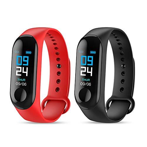 Waterproof Bracelet Heart Rate Health Monitor Tracker Clock for M3
