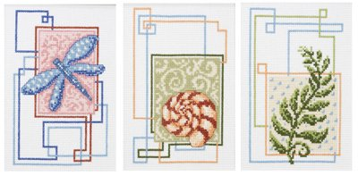 Nature's Trio Counted Cross Stitch Kit
