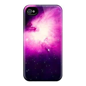 Back Cases Covers For Iphone 6plus - Stars On Purple Space