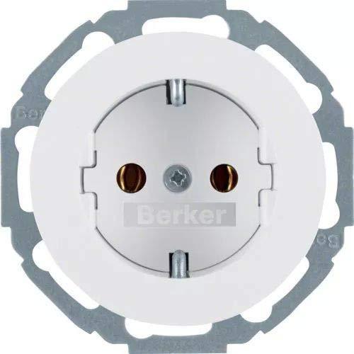 Hager 47552089 interruptor de luz Blanco Blanco, IP20, 250 V, 10 pieza s Interruptores de luz