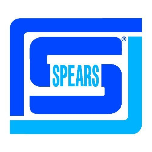 Spears 854-080 Glass-Filled PVC Pipe Fitting, Van Stone Flange, Class 150, Schedule 80, 8
