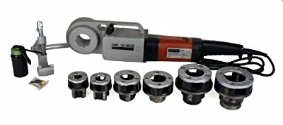 "Steel Dragon Tools 600 Pro 1/2""-2"" Hand-Held Pipe Threading Machine 16013 fits RIDGID 11-R Die Head and 12-R Dies"