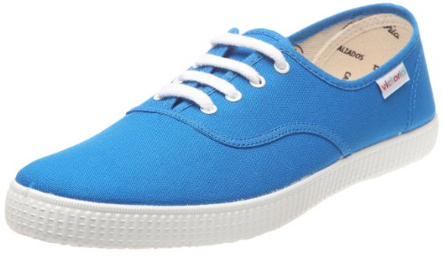 Victoria Inglesa Lona, Sneaker Unisex Adulto Blu (38 Francia)