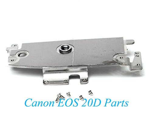 - Genuine Canon EOS 20D Camera Bottom Mounting Plate with Tripod - Replacement Parts