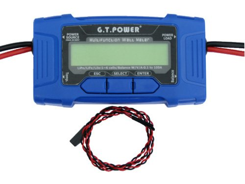 Integy RC Hobby C26346 G.T. Power 100A Multifunction Watt (Blitz Power Meter)