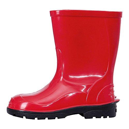 LEMIGO Kinder Gummistiefel Regenstiefel OLI (23, rot)