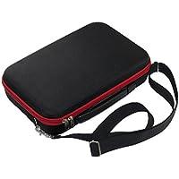 Favrison Black Drone Storage Bag Storage Shoulder Bag Handbag Case For Parrot Mambo