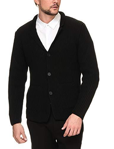 Men's Blazer Button Black Sseinse Fastening RqwpnS