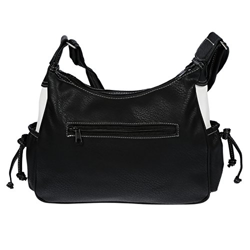 Black Women's LLUPP Women's Bag 31x24x10 Black LLUPP Shoulder cm SYwxaqB