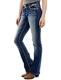 Women's Juniors InstaStretch Luscious Curvy Bootcut Jeans