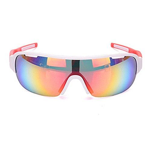 De para Libre Dos Gafas LBY Deportes De Color De Bicicleta de Prueba Juegos A Viento Hombre Montar Sol Gafas Azul Miopía Red Aire Gafas Al Rx84wqXxf