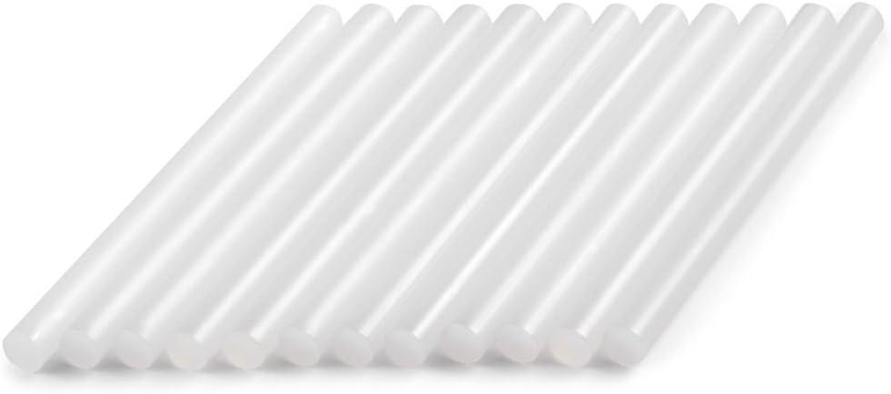 Dremel GG02 - Barras de Pegamento de Baja Temperatura de 7 mm, Accesorio para Pistolas de Pegado, Color Blanco