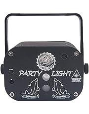 Disco Lights Party Verlichting Sound Activated Dj Light Met Afstandsbediening Mini Fase Lichten Strobe Projector Voor Club Partij Van Het Huis Ballroom Bands Wedding Show Bar Karaoke Ktv-usb-kabel