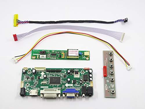 FidgetFidget HDMI+DVI+VGA LCD Controller Driver Converter Kit for 1920X1200 LM240WU2(SL)(B4)