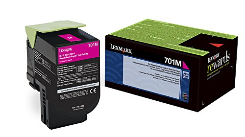 Lexmark 70C10M0 Magenta Return Program Toner