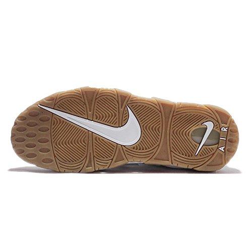 Nike Air More Uptempo Para Hombre Blanco / Goma