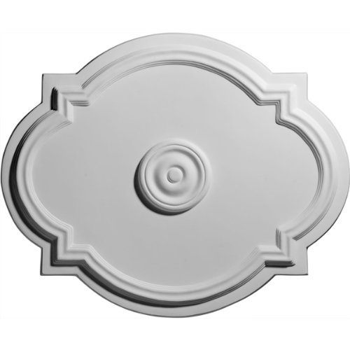 (Waltz 17 3/8 H x 21 1/4 W x 1 D Ceiling Medallion by Ekena Millwork)
