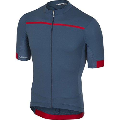 Castelli Forza Pro Jersey - Men's Light Steel Blue, - Mesh Steel Jersey