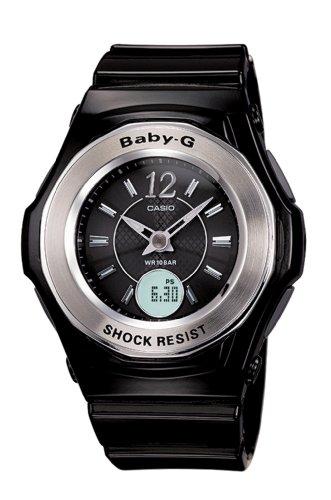 Casio Women's Baby-G Black Tough Solar Atomic Analog Sport Watch #BG1000-1B ()
